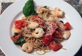 Shrimp-with-Basil