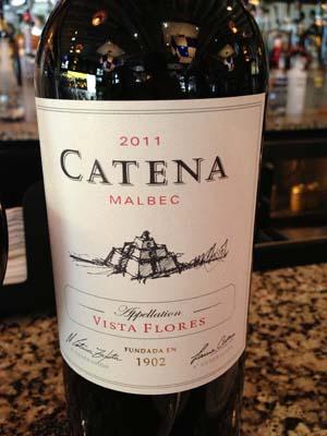 2011 Catena Malbec