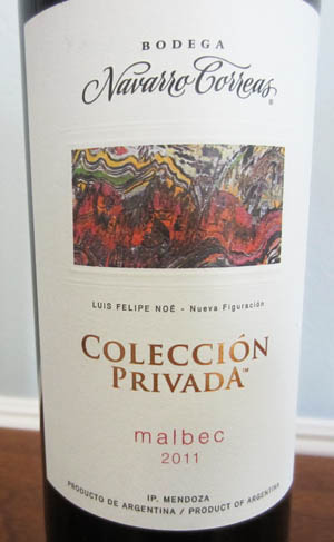 Navarro Correas Malbec Coleccion Privada