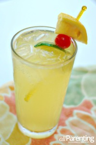 Pineapple Lime Coconut Spritzer