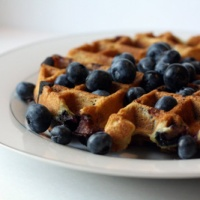Go Gluten-Free with Almond Flour Waffles