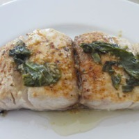 Meatless Monday - Grilled Mahi with Basil Butter