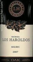 2011 Hacienda Los Haroldos Malbec