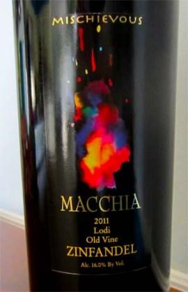 2011 Macchia Mischievous Zinfandel